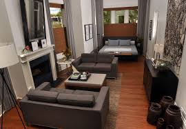 Open Floor Plan Studio Apartment Small Apartment Open Concept Including Luxury Studio Floorplan