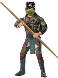 Teenage Mutant Ninja Turtles Halloween Costume Tmnt Teenage Mutant Ninja Turtles Movie Deluxe Purple Donatello