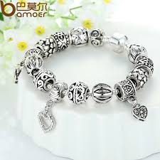 antique charm bracelet silver images Luxury 925 silver charm bracelet for women fashion diy beads jpg