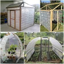 Garden Greenhouse Ideas How To Build A Plastic Bottle Greenhouse Home Design Garden
