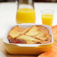 caramelized pear bread pudding recipe eatingwell