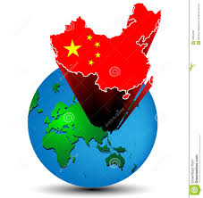 Map Of China And Taiwan by Night Earth Eastern China And Taiwan Stock Illustration Image