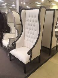 High Back Accent Chairs 1 Day Sale Absolom Roche Baroque Statement Accent High Back Throne