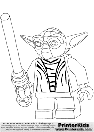 kids download lego star wars coloring pages print 91
