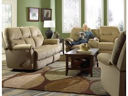 Oversized Recliner Furniture Provide Extreme Comfort With Rocking Reclining Loveseat