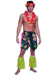 Kilt Halloween Costume Hawaiian Costumes Men Women Kids Parties Costume