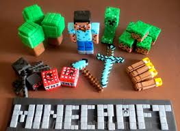 minecraft edible cake topper impressive decoration minecraft birthday cake toppers bold design