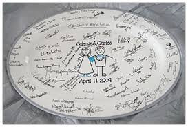 wedding signing plate the pass it on plates signature plates
