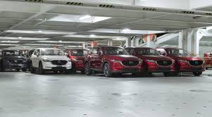 mazda aus first 2017 mazda cx 5 models touch down in australia