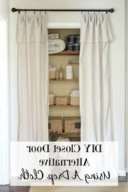 door alternatives u0026 closet door designs wonderful closet door