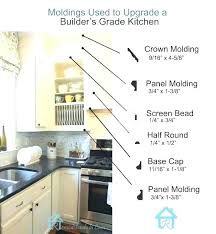 kitchen cabinet moulding ideas kitchen cabinet moulding wonderful kitchen cabinets molding ideas