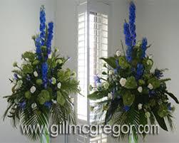 pedestal arrangement course flower arranging burgess hall