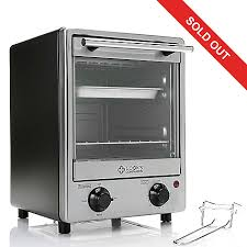 Broiler Pan For Toaster Oven Cook U0027s Companion 900w 3 In 1 Countertop Vertical Toaster Oven