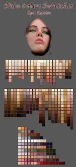 vector skin tone tutorial skin color swatches by deviantnep on deviantart