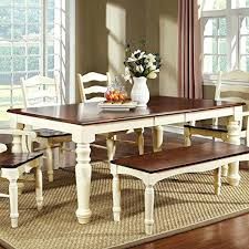 white table with bench white table and bench set white dining table bench seat