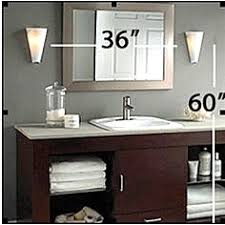 bathroom mirror wall sconces houzz incredible birdcages