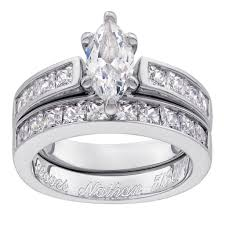 wedding ring and band wedding wedding awesome engagement rings and band sets sterling