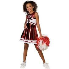 Halloween Costumes Cheerleaders Musical Cheerleader Costume Ebay
