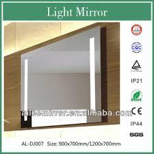 High Quality Bathroom Mirrors by 2013 High Quality Led Bathroom Mirror With Blue Light Hotel