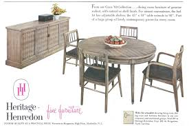 heritage henredon furniture advertisement gallery