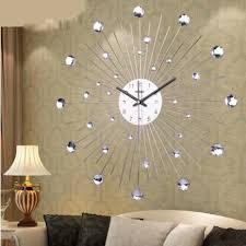Best 25 Large Wall Clocks Personalized Customization Diamante Home Decorative Large Wall