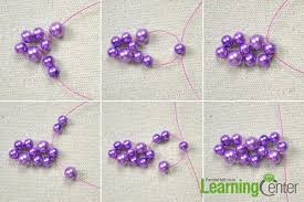 make necklace from beads images How to make your own beautiful purple bead necklace jpg