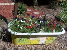 clever plant container ideas the micro gardener also small potted clever plant container ideas the micro gardener also small potted flower gardens inspirations bathtub kids small