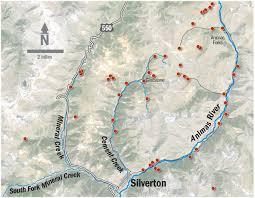 Superfund Sites Map by Hickenlooper Recommends Superfund Listing For Mine Sites Around