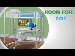 Furniture Your Zone Bunk Bed by Your Zone Loft Collection Metal Loft Bed 5410096w Youtube