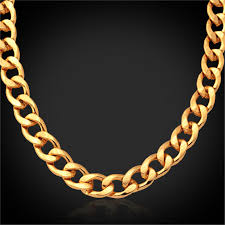 trendy gold chain necklace images Gold chain for men jewelry trendy fashion new necklace vintage 18k jpg