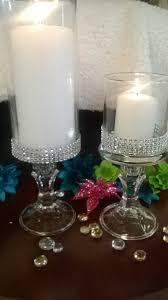 Centerpieces For Bridal Shower by Set Of Six 6 Vases Wedding Centerpiece Bridal Shower Bling