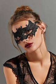 lace mask lace bat masquerade mask outfitters