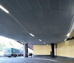 controsoffitto alluminio controsoffitto in alluminio in pannelli ignifugo con griglia