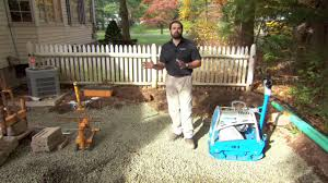 Building A Raised Patio With Retaining Wall by Base Options For Raised Patio Walls Youtube