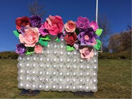 seattle balloon delivery seattle balloon decorations balloon paper flower decorations