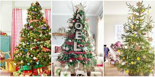 christmas tree decoration 60 best christmas tree decorating ideas how to decorate a