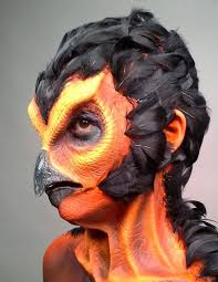 special effects schools don t like the feathers but the prosthetic is great spfx