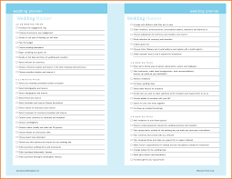 4 wedding planner template expense report