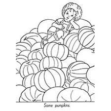 25 free printable pumpkin coloring pages