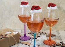 wine glass decorations ebay