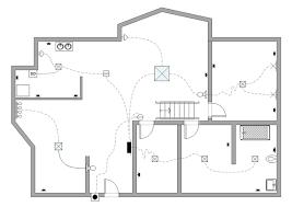 electrical floor plan drawing electrical plan exle