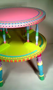 funky side tables 748 best whimsical painted furniture images on pinterest painted