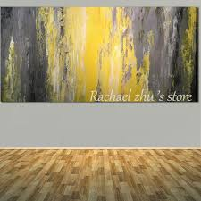 Grey Textured Paint - aliexpress com buy hand painted modern abstract textured thick
