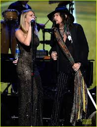 leann rimes u0026 steven tyler performers at musicares gala photo