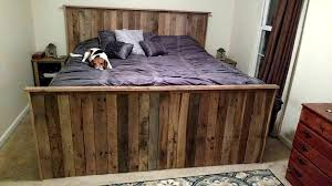 Bed With Drawers Underneath Pallet Bed With Storage Underneath