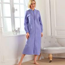 Robe De Chambre Velours Femme by De Chambre Polaire Femme A Fermeture Eclair