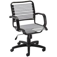 Bungee Chair Silver Flat Bungee Office Chair With Arms The Container Store