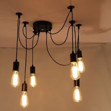 amazing of diy ceiling lamps diy sputnik light mid century modern