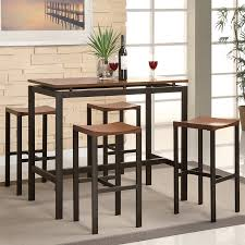 Lowes Dining Room Lights by Shop Coaster Fine Furniture Atlas Light Oak Black Dining Set With