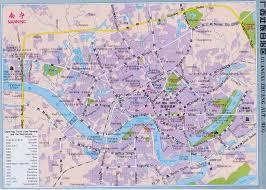 Changsha China Map by Nanning Area U0026 City Map China Maps Map Manage System Mms